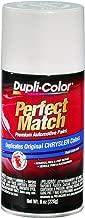 Dupli-Color BCC0362 Bright White E7 Chrysler Perfect Match Automotive Paint - Aerosol, 8. Fluid_Ounces