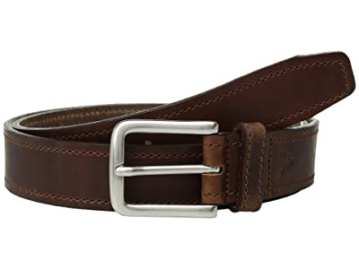 Trask Sutton Belt (Brandy American Steer) Men