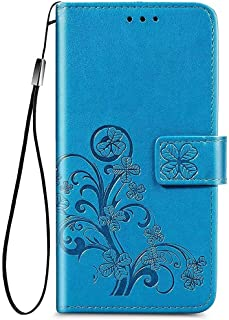 Larook Case for Honor X10 5G, Butterfly Pattern Flip Case Wallet Stylish with Stand Function and Magnetic PU Case Cover fi...