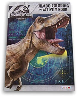Lazy Days Jurassic World Jumbo Coloring and Activity Book - 64 Pages