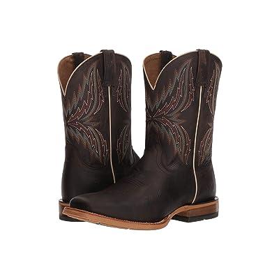 Ariat Arena Rebound (Branding Iron Brangus/Dark Desert) Cowboy Boots