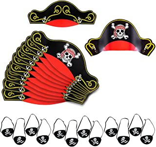 pirate hat party favors