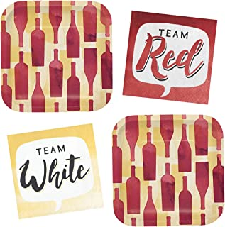 Best wine themed paper plates and napkins Reviews
