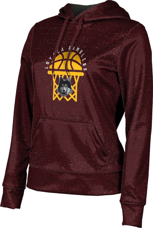 ProSphere Loyola University Chicago Basketball Girls' Pullover Hoodie, School Spirit Sweatshirt (Heather)