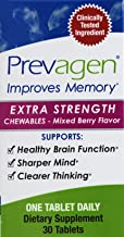 Prevagen Extra Strength Chewables 30 Tablets - Mixed Berry