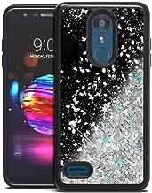 LG K10 2018 Case, LG K30 Case, LG Premier Pro Glitter Case, SuperbBeast Fashion Bling Liquid Floating Glitter Sparkle Girly TPU Bumper Case for Girls Women Children for LG K10 2018