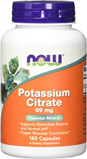 Now Foods - POTASSIUM CITRATE 99mg - 180 veg caps