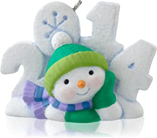 1 X Frosty Fun Decade 5th In Series - 2014 Hallmark Keepsake Ornament