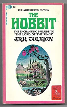 J.R.R. Tolkien, The Hobbit First Printing August 1965 with Lion (rare--Tolkien forced publisher to remove lion)