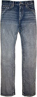 Axel Mens Slim Boot Stretch Denim Jeans