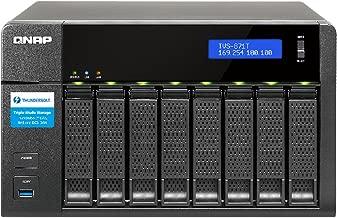 QNAP TVS-871T-i5 8-bay Thunderbolt 2 DAS/NAS/iSCSI IP-SAN Solution. Intel Core i5 with 16GB Memory