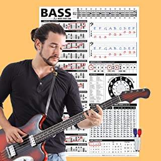 Creative Bass Poster - Interactive Theory Chart • Creative Bass Reference Poster 24
