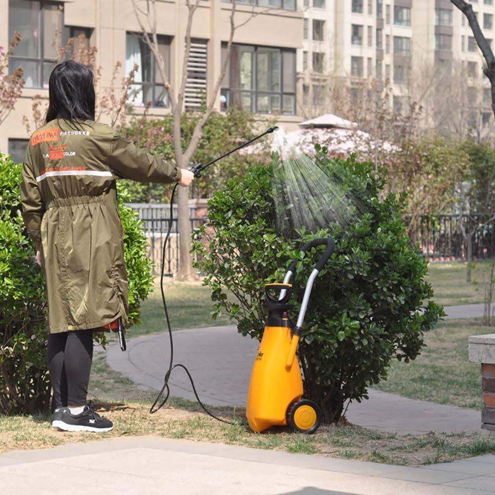 Instag Regadera de Jardin Rociador Trolley Landscape Sprayer Riego a lo Largo del diseño regadera Fertilizante sin Goteo Herramientas de pulverizador Enrollable para jardinería: Amazon.es: Hogar