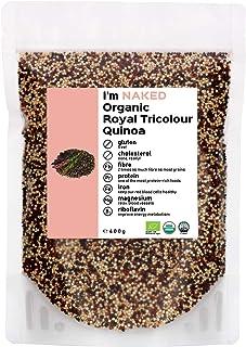 Naked Organic Royal Tricolour Quinoa, 400g