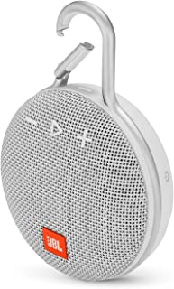 JBL Clip 3 Portable Wireless Speaker - White K951506