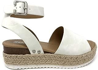 Best white ankle strap espadrilles Reviews
