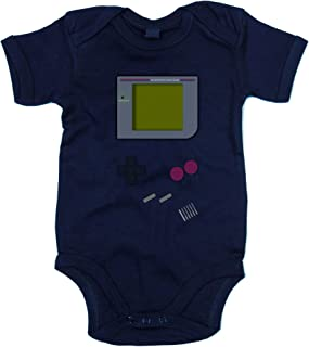 shirtdepartment Shirtdepartment - Baby Body - Gaming Classic dunkelblau-grau 62-68