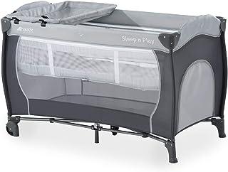 comprar comparacion Hauck Sleep N Play Center - Cuna de viaje 7 piezas hasta 15 kg, altura recién nacido, con apertura lateral, ruedas, colchó...