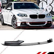 Fits for 2011-2016 BMW F10 528i/530i/535i/550i 5 Series M Sport Bumper Performance Style Front Lip Spoiler Splitter