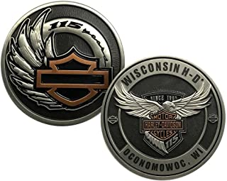 Harley-Davidson 115th Anniversary Dealer Collectors Challenge Coin, 8008376