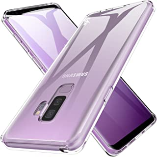 LK Case for Galaxy S9 Plus, Ultra [Slim Thin] Crystal Clear TPU Rubber Soft Skin Silicone Protective Case Cover for Samsung Galaxy S9 Plus (Clear)