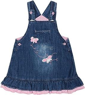 3M-3Years Baby Girls Infant Toddlers Denim Overalls Bib...