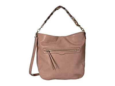 Jessica Simpson Valencia Hobo (Pink Salt) Hobo Handbags