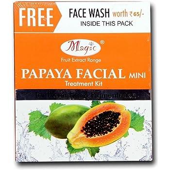 Amazon Com Nature S Essence Magic Papaya Facial Kit Mini Beauty
