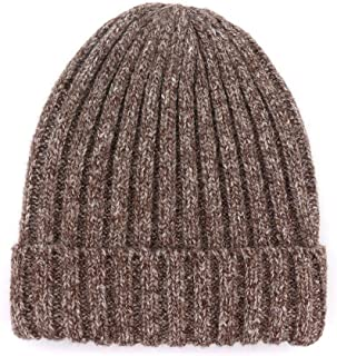 Hat Wool hat Female Knit hat Strong Fashion Simple and unproblematic (Color : Coffee, Size : M56-58cm)