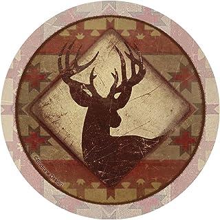 Thirstystone Stoneware Coaster Set, Deer Lodge