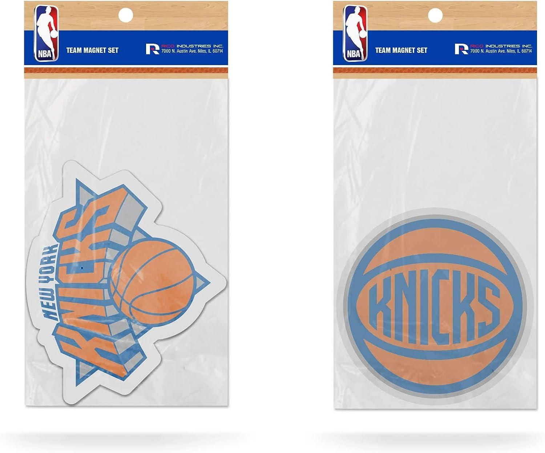 NBA New York Knicks 2-Pack Die Set Sale Special Price Cut Team Industry No. 1 Magnet Logo