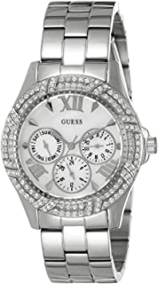 Guess Womens Quartz Watch, Analog Display and Stainless Steel Strap W0632L1