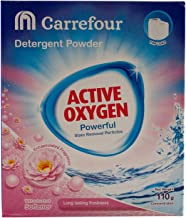 M Carrefour Detergent, Powder - 110 gm