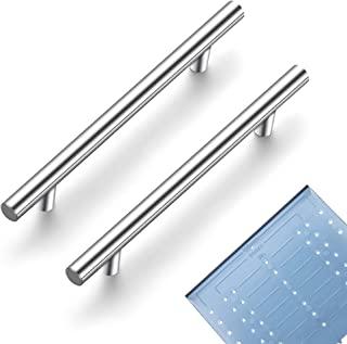 "Ravinte 60 Pack | 7.38'' Cabinet Pulls Brushed Nickel Stainless Steel Kitchen Drawer Pulls Cabinet Handles 7-3/8""Length, 5..."