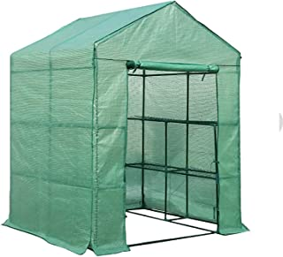 Greenfingers 8 Shelves Greenhouse Tunnel Plant Stand Garden Storage Grow Sheds