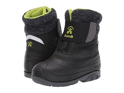 Kamik Kids Wren (Toddler) (Black/Lime) Kids Shoes