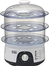 قدر بخاري للطهي بثلاثة طبقات من بلاك اند ديكر - HS6000-B5
