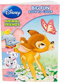 Disney Big Fun Book to Color Book - Animal Friends - 80 Pages