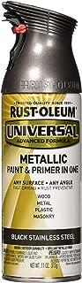 Rust-Oleum RUSTOLEUM 314558 Black Stainless Steel Spray Paint
