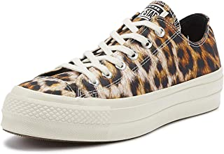 Converse Chuck Taylor All Star Lift Wild Womens Leopard Ox Trainers