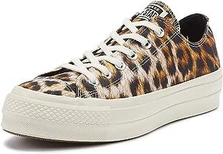 Converse Chuck Taylor All Star Lift Wild Womens Leopard Ox Trainers