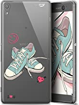 Carcasa para Sony Xperia XA Ultra, Ultrafina, diseño de Mes Sneakers d'Amour
