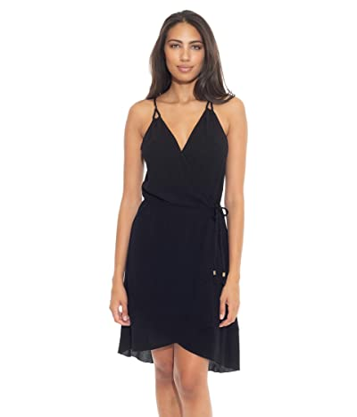 BECCA by Rebecca Virtue With a Twist Wrap Dress Cover-Up