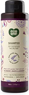 ecoLove - Moisturizing Body Wash for Dry Skin with Organic Blueberry Grape & Lavender Natural Body Wash for Women Men Kids...