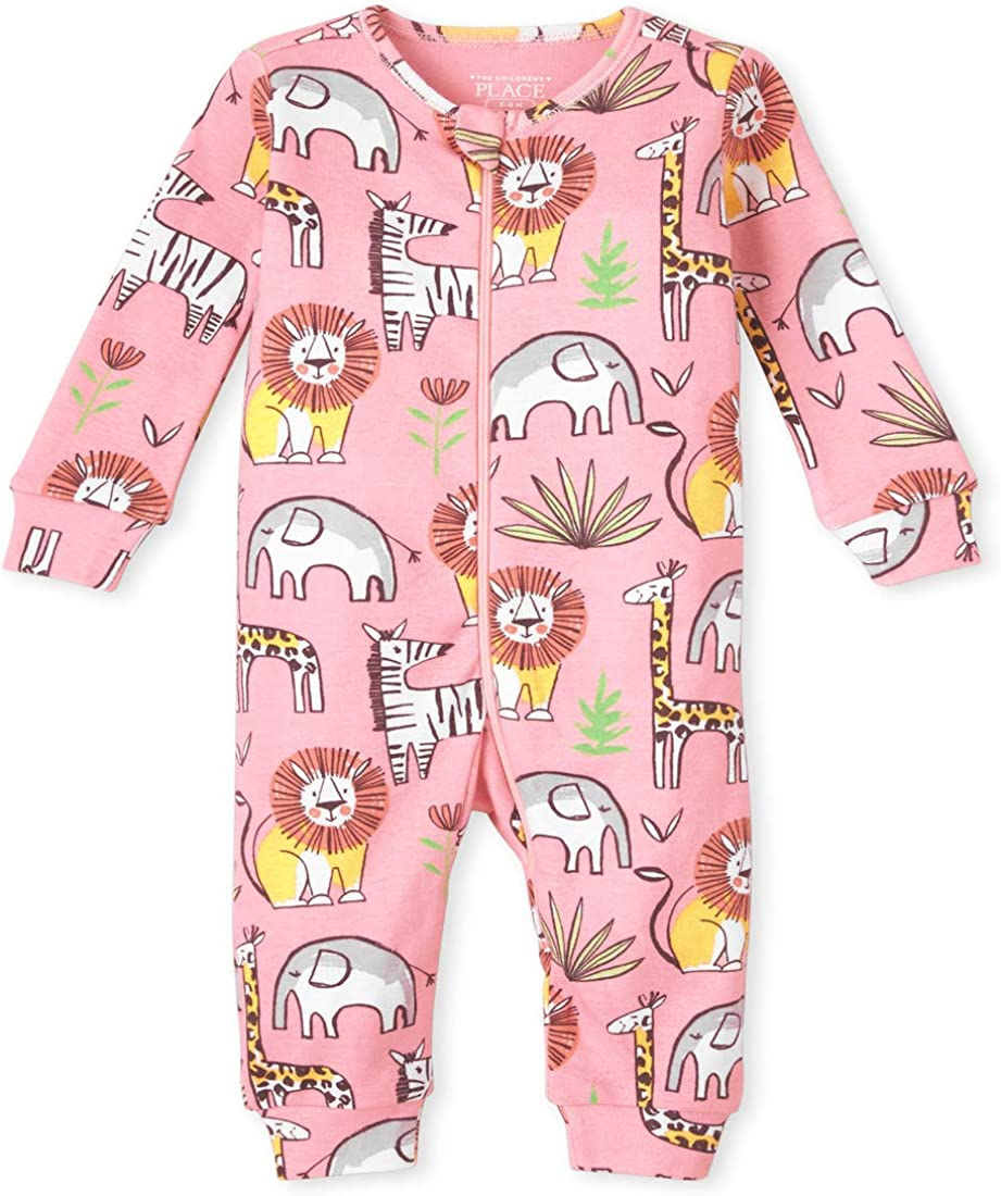 The Children's Place Baby Girls' Stretchie Pajamas