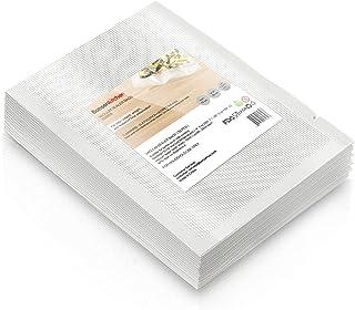 Bonsenkitchen professionele vacuümzakken 15x25cm voor vacuümverpakker & folie-lasapparaat met levensmiddelen Sous Vide en ...