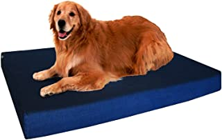 Premium Orthopedic Memory Foam Dog Bed for Small, Medium to Extra Large Pet, Waterproof Internal Liner with Durable External Cover and Bonus External Case