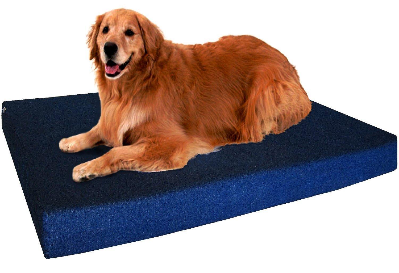 Dogbed4less Orthopedic Memory Waterproof 40X35X4