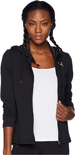 Modern Sport Full Zip Logo Hoodie