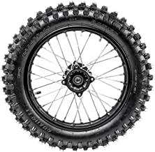 WPHMOTO 90/100-14 Rear Wheel Tire and Rim Inner Tube with 15mm Bearing Assembly For Dirt Pit Bike